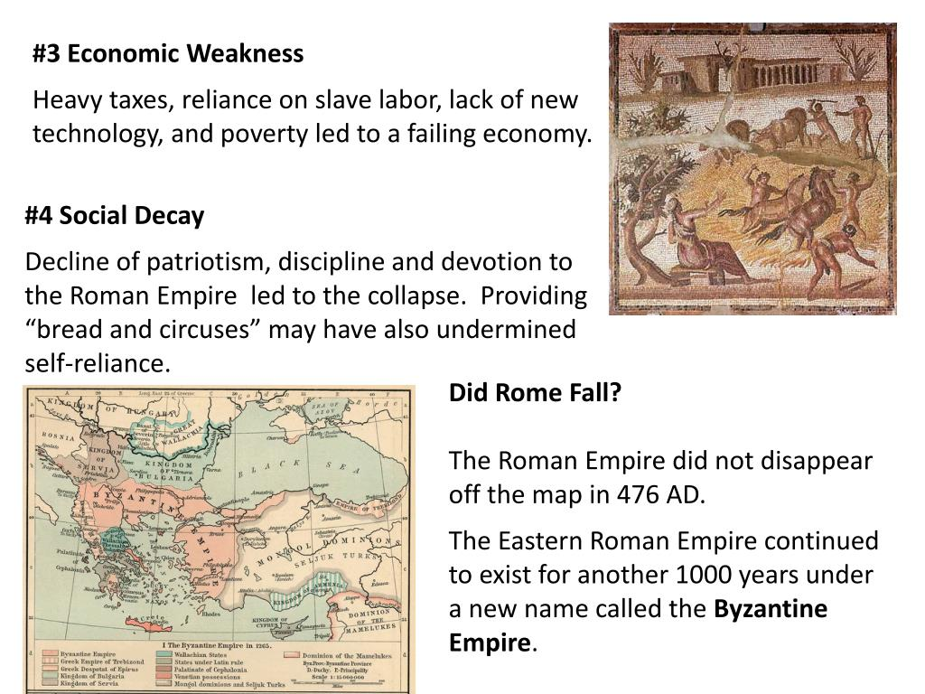 PPT - The Fall of the Roman Empire PowerPoint Presentation ...