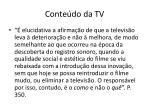 conte do da tv