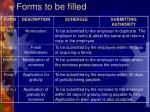forms to be filled1