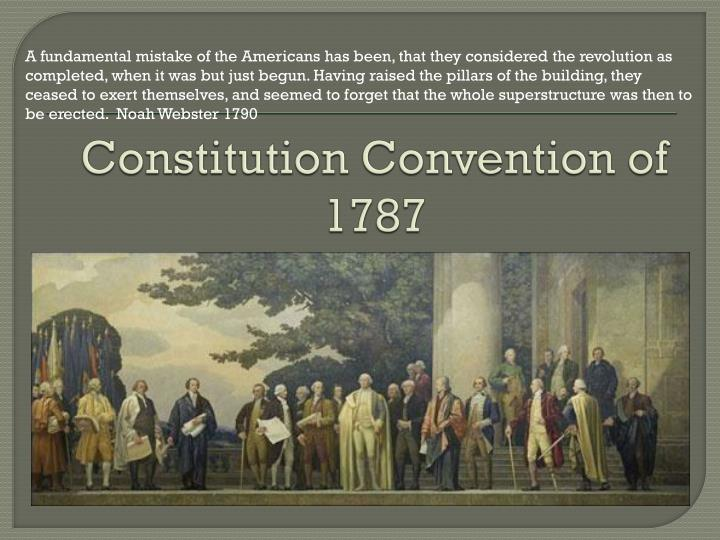 constitution convention of 1787 n.