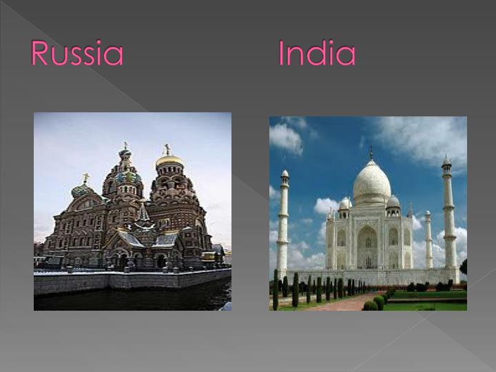 RussiaIndia
