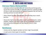 2 data and methods2