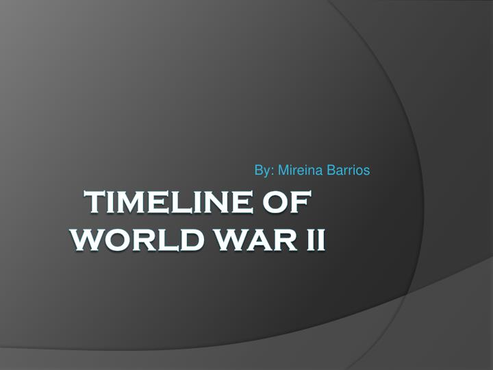 the results of world war ii World war ii seeds of war the seeds of world war ii were sown in the treaties that ended world war i as a result, dictatorships arose in germany and italy.