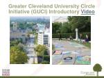 greater cleveland university circle initiative guci introductory video