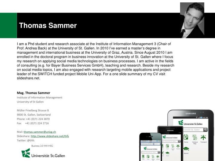 Thomas Sammer