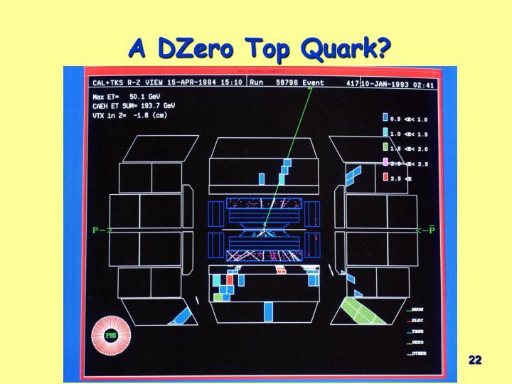 A DZero Top Quark?