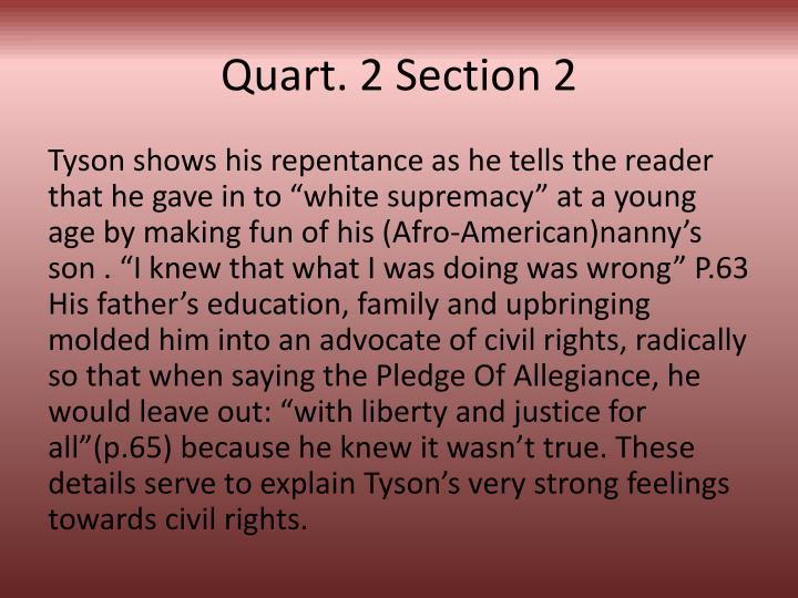 Quart. 2 Section 2