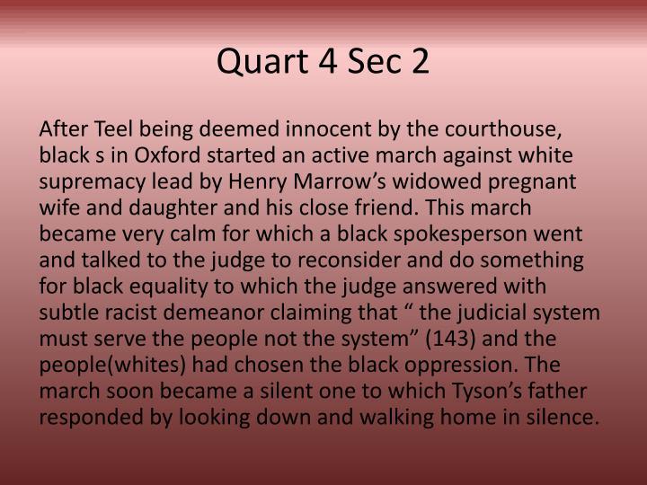 Quart 4 Sec 2