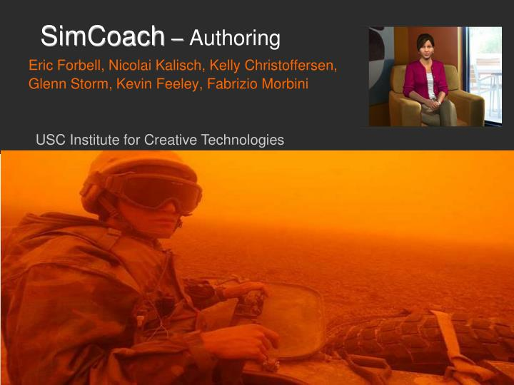 Simcoach authoring