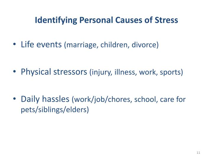 Identifying Personal Causes of