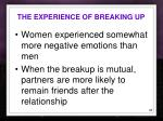 the experience of breaking up1