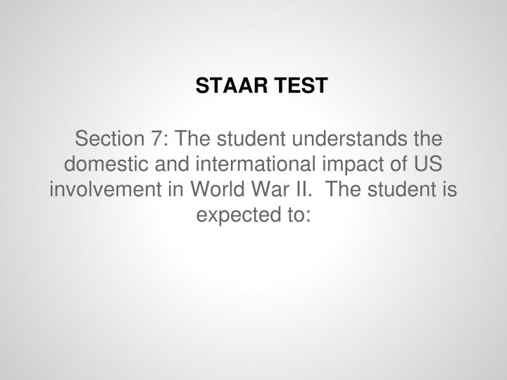 analyzing the us involvement in wwii Grade 10: history 7 analyze the impact of us participation in wwii, with emphasis on the change from isolationism to international involvement including the reaction.
