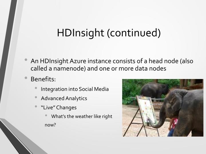 HDInsight