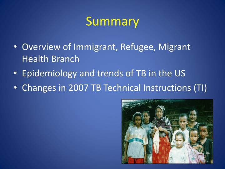 Ppt Cdc Update On The 2007 Tb Technical Instructions Powerpoint