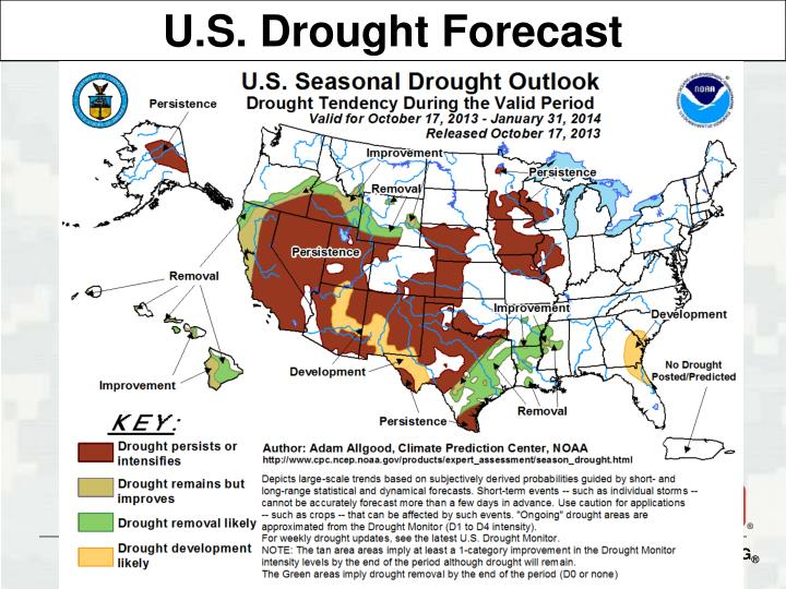 U.S. Drought Forecast