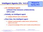 intelligent agents ch 14 5 3