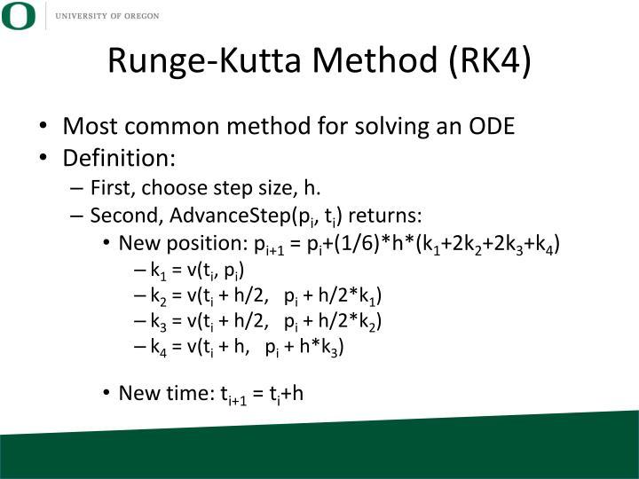 Runge-Kutta