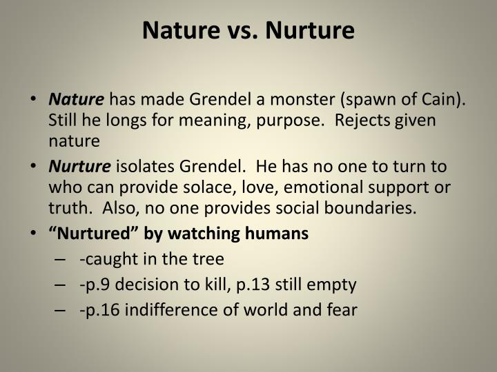nature vs nurture 3 Nature refers to what we are born with and includes our biology, genetics, and similar characteristics in contrast, nurture refers to what is learned, through our cultural community and other individuals.