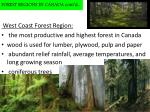 forest regions in canada cont d1