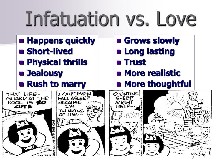 what is infatuation vs love