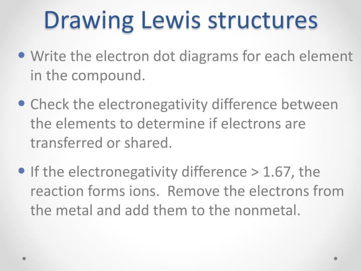 drawing lewis structures n.