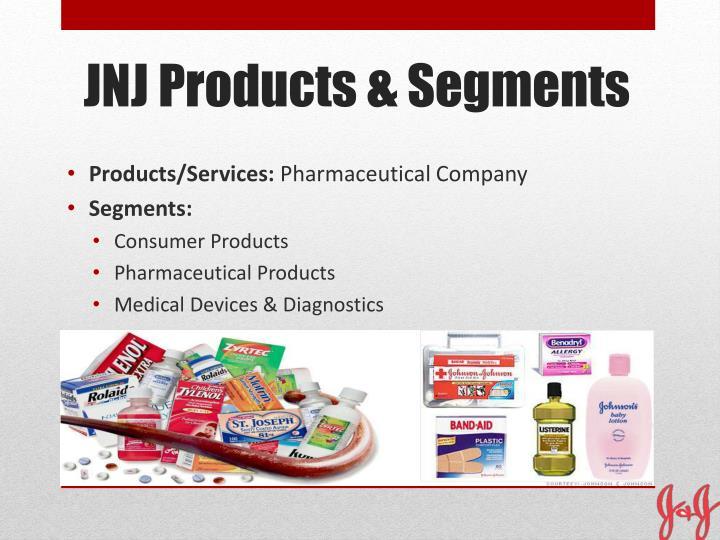 Jnj products segments