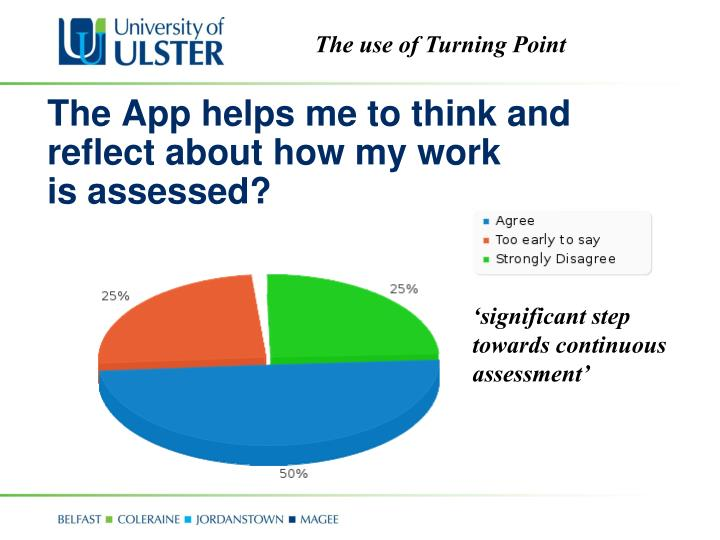 The App helps