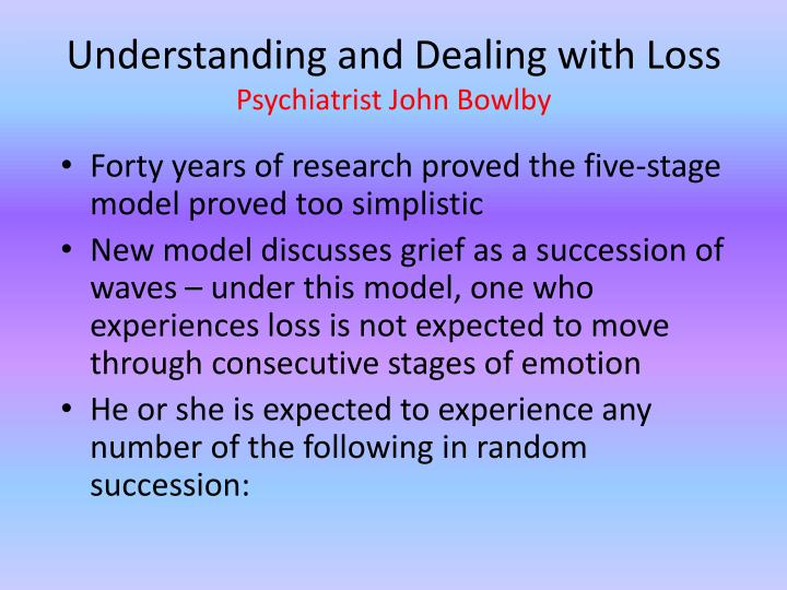 Understanding and Dealing with Loss