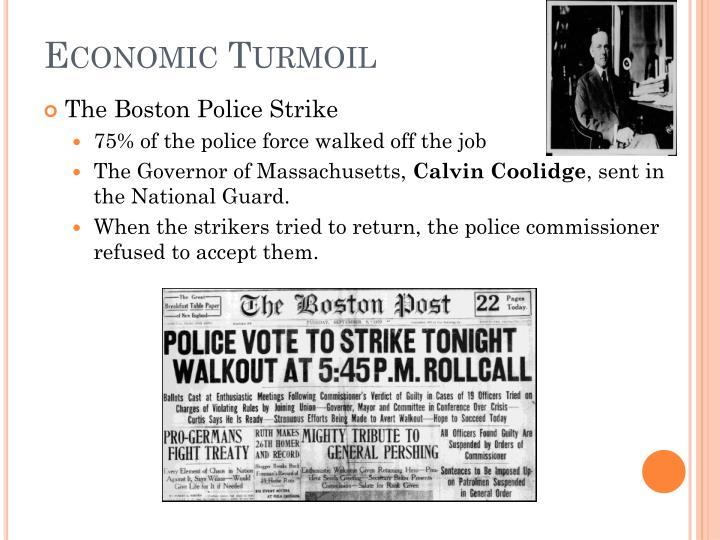 Economic Turmoil