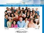 consumer behavior impacts system planning
