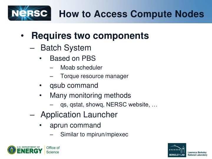 How to Access Compute Nodes
