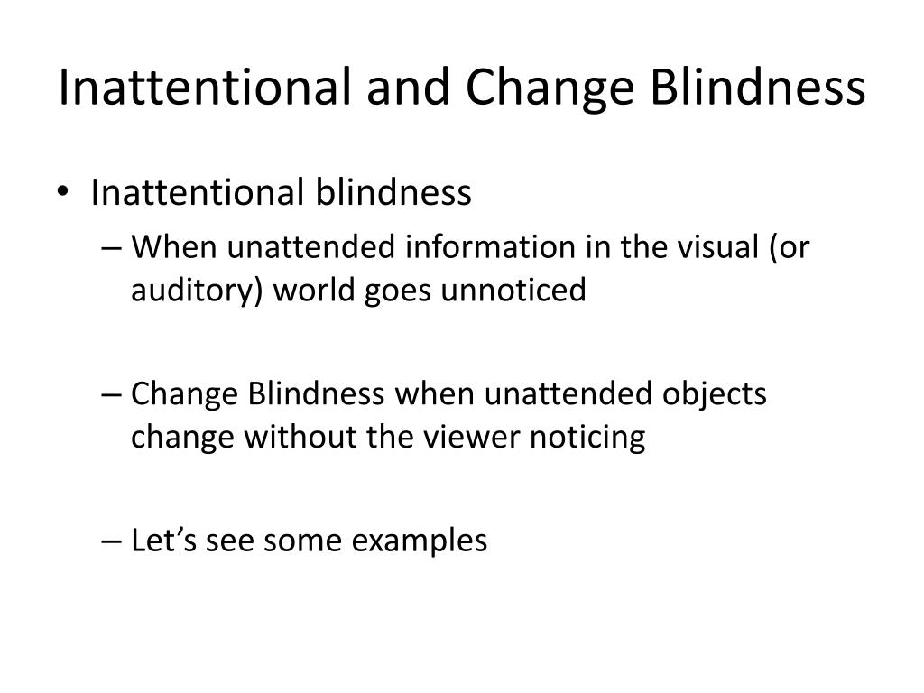 Ppt Attention And Consciousness Powerpoint Presentation