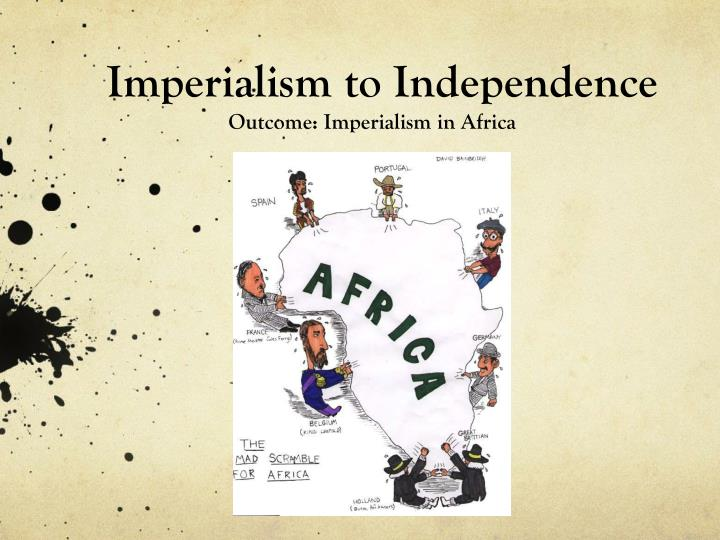 imperialism to independence n.