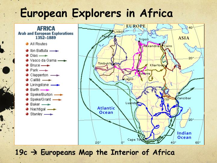 European Explorers in Africa