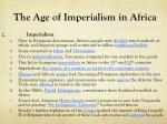 the age of imperialism in africa1