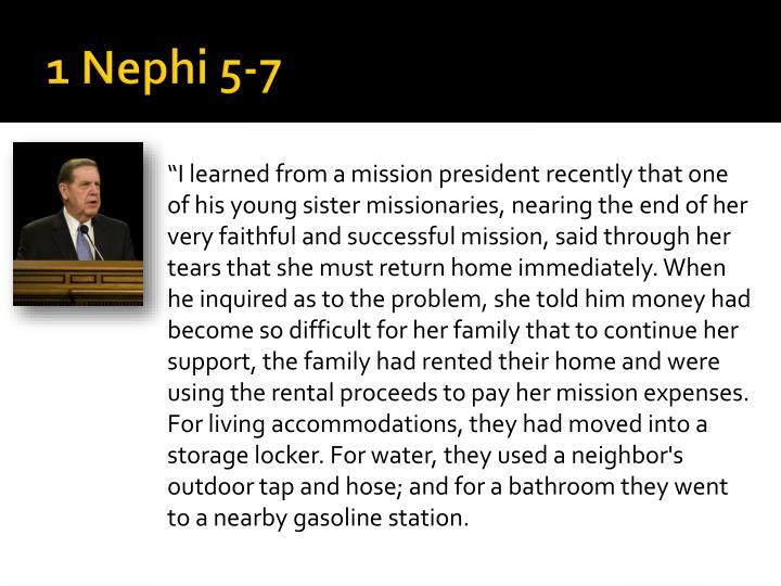 1 nephi 5 71