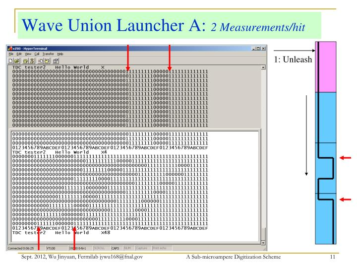 Wave Union Launcher A: