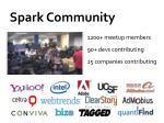 spark community