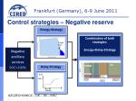 control strategies negative reserve