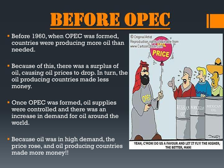 Before OPEC