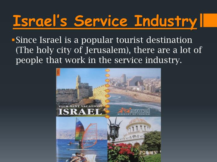 Israel's Service Industry