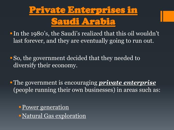 Private Enterprises in