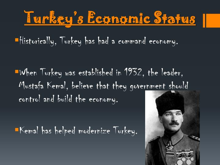 Turkey's Economic Status