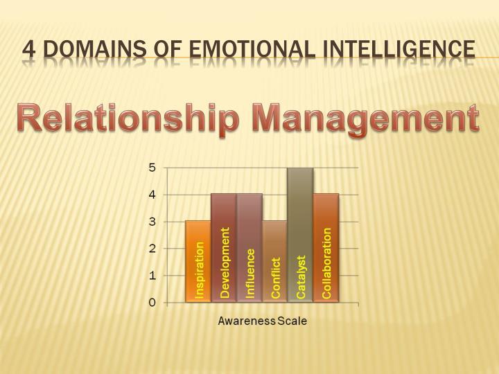 4 Domains of Emotional Intelligence