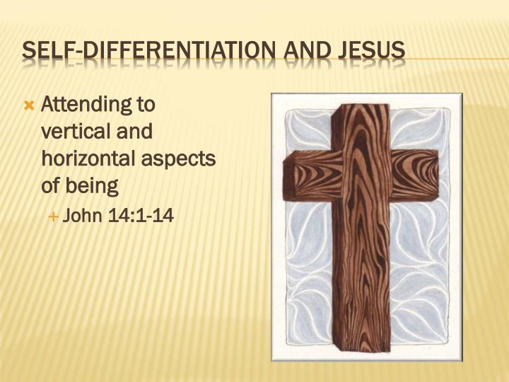 Attending to vertical and horizontal aspects of being