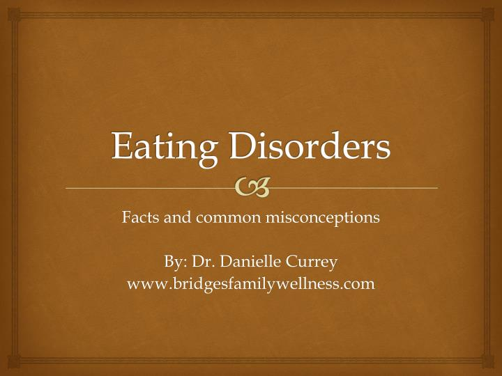 eating disorders n.