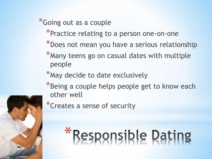 Does dating exclusively mean relationship
