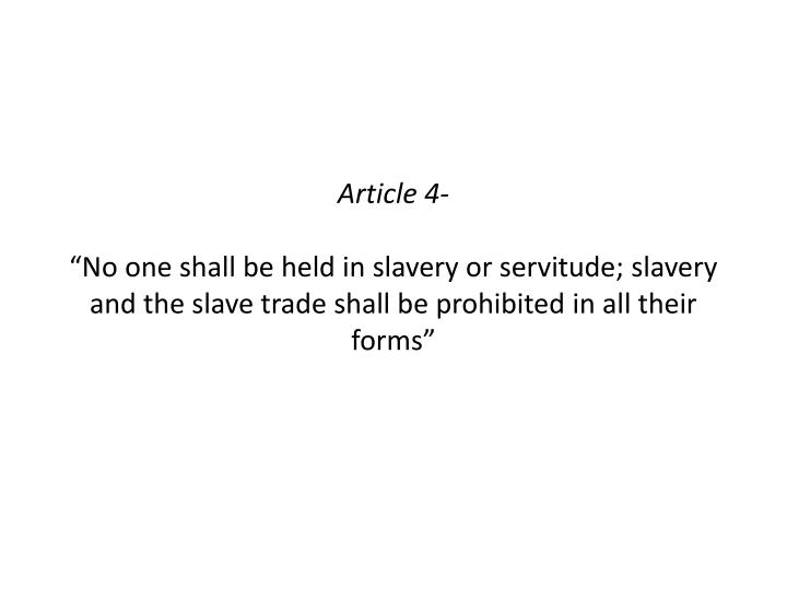 Article 4-