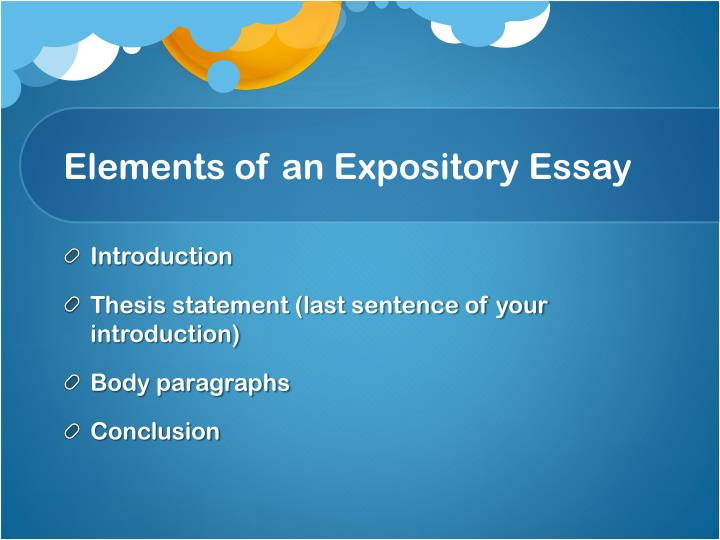 construct body expository essay Your body paragraphs should contain ample textual evidence, be correctly formatted, and have seamless transitions the body is the meat and potatoes of your essay as such, it needs to contain lots of juicy textual evidence and meaty support, not fluff.