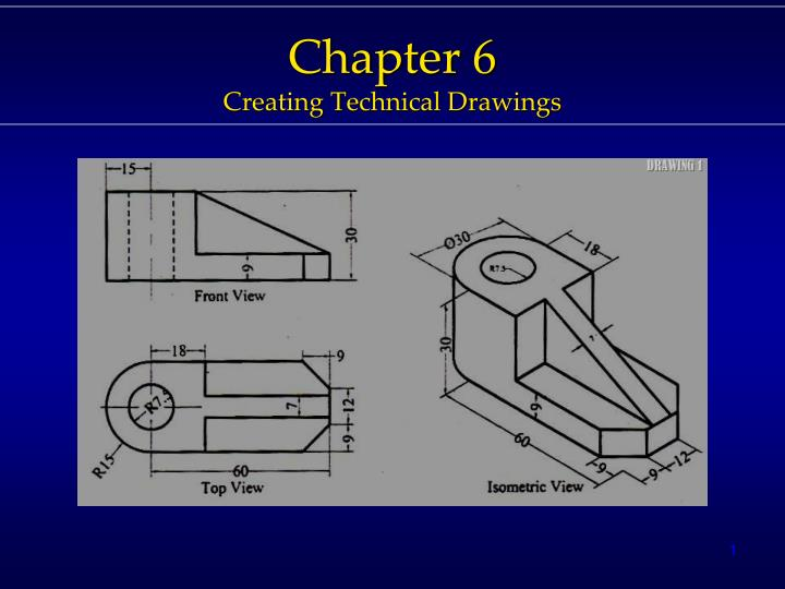 chapter 6 creating t echnical drawings n.
